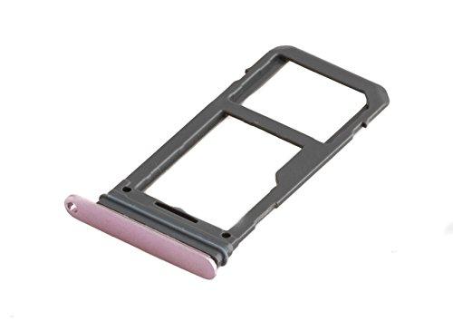 ICONIGON Ersatz für Galaxy S8+ Plus (SM-G955F) SIM/SD-Kartenhalter (Pink)
