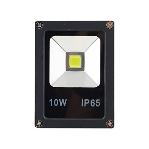 YoBuyBuy AC85-265V 10W Focos LED impermeables Lavado de pared Luz de inundación Foco Jardín Iluminación exterior Bombilla de lámpara cuadrada Blanco frío