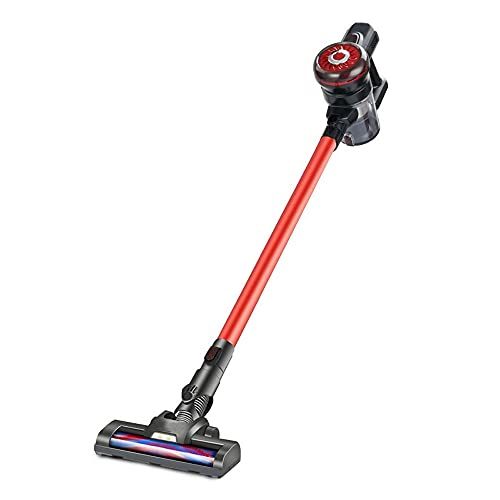 El aspirador cilíndrico, aspirador sin bolsa, potente, compacto y ligero, sin bolsa. Las boquillas para suelos son adecuadas para suelos duros y alfombras, con una fuerte succión. Filtro sanitario