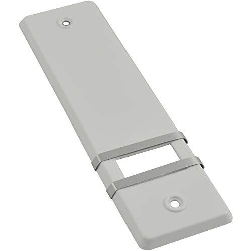 Rolladengurt Abdeckung Gurtwicklerblende OHNE Gurtausbau & Lochabstand 160 mm Weiß 1 Stück