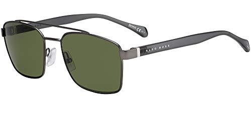 Hugo Boss BOSS-1117-S R80QT - Gafas de sol (acabado mate, cristal gris),...