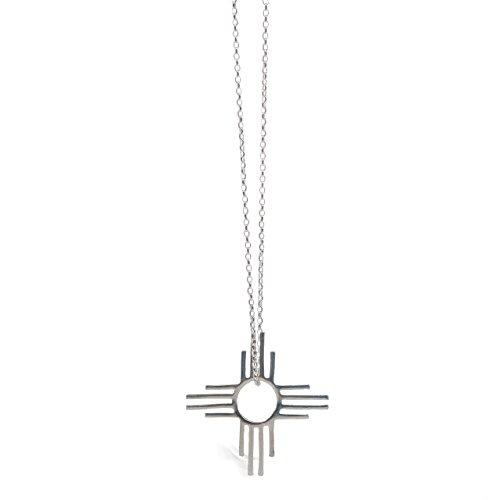 Tskies Enchantment Sterling Silver Necklace for Women Zia Pendant Luxury Southwest Jewelry
