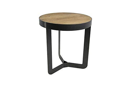 Spinder Design Douglas 2 Table d'appoint en chêne 40 x 40 cm