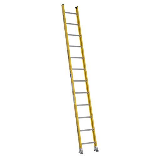 Recto Escalera, H 12ft, fibra de vidrio