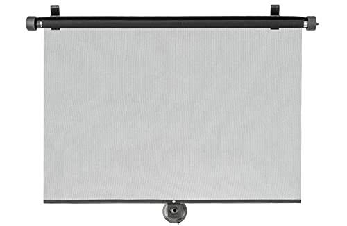 Walser Auto-Sonnenrollo, Sonnenschutz Auto, Auto-Sonnenblende, 2 Stück Sonnenrollos für SUV und Van Seitenfenster, Autosonnenschutz 53 x 56cm