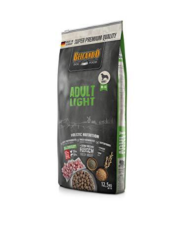 Belcando Adult Light Hundefutter | Trockenfutter für übergewichtige Hunde | Alleinfuttermittel für ausgewachsene Hunde ab 1 Jahr (12,5 kg)