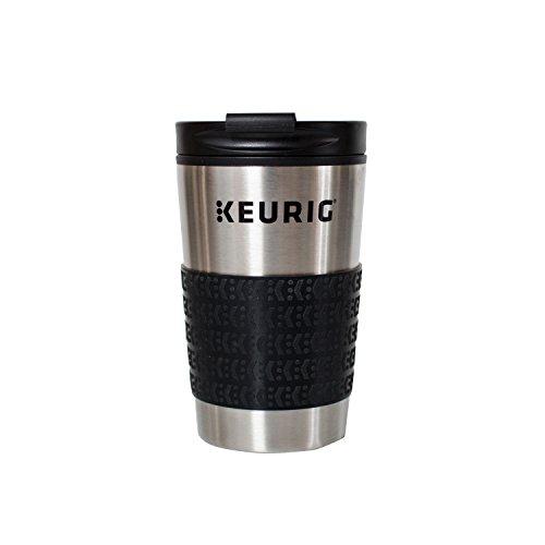 Keurig Travel Mug Fits KCup Pod Coffee Maker 12 oz Stainless Steel