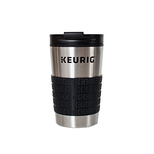 Keurig Travel Mug Fits K-Cup Pod Coffee Maker, 12 oz, Stainless Steel