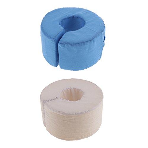 Dailymall 2 Almohadas de elevación de Espuma para el Tobillo y la Mano con Bucle Ajustable
