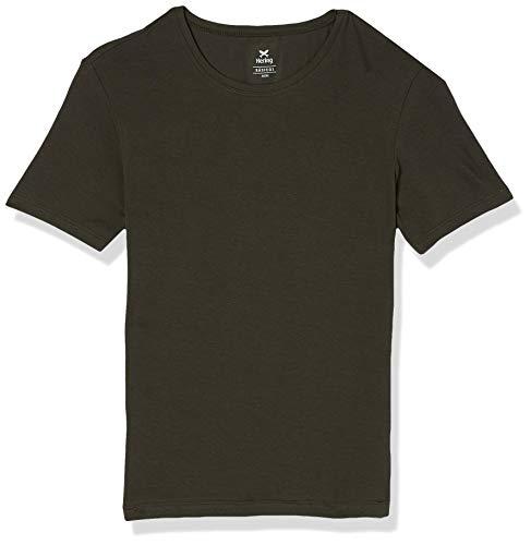 Camiseta Básica, Hering, Feminino, Verde, M