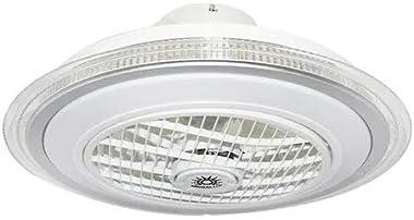 """Ventilador de techo con lámpara LED F60061 12"""" Pulgadas/PSA CÓMPUTO Y PAPELERÍA"""