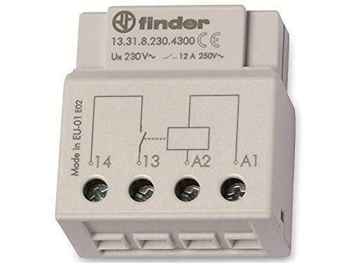 Finder Serie 13 Zusatzrelais, 1Kontakt, 230V, Wechselstrom