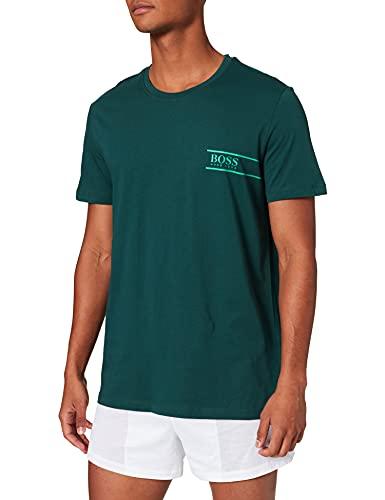 BOSS T-Shirt RN 24 Camiseta, Dark Green 305, M para Hombre