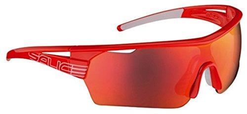 Salice 006RWP - Gafas de Ciclismo, Color Rojo, Talla única
