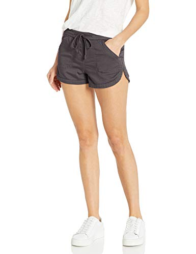 UNIONBAY Women's Pull-on Short, Galaxy Grey, Small
