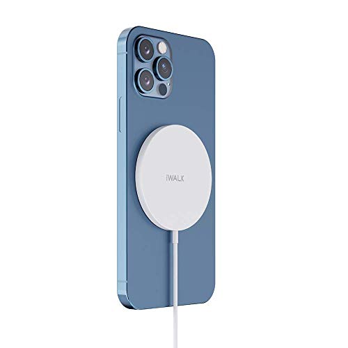 iWALK Magnetic Wireless Charger, Wireless Charging, 15W Fast Charging,...