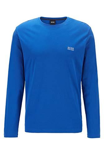 BOSS Herren Mix&Match LS-Shirt R Regular-Fit Loungewear-Longsleeve aus elastischer Baumwolle