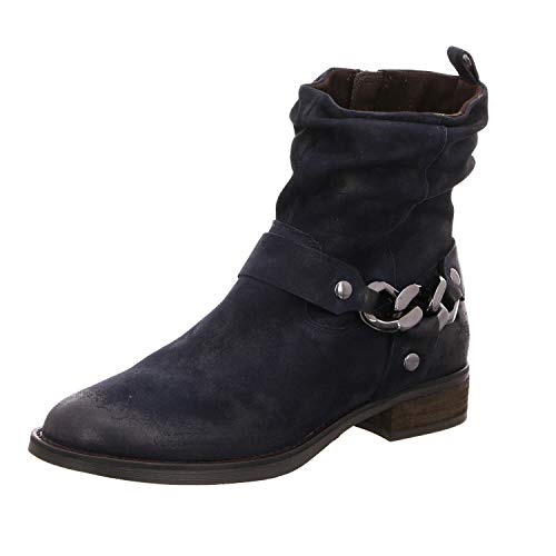 SPM Shoes & Boots Damen Stiefeletten Nevain Ankle Boot 06099177-004 blau 559865