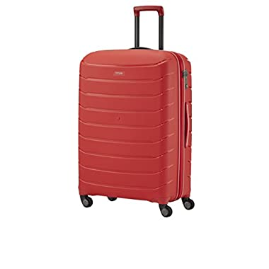 Titan Luggage and Travel Gear Limit Large 30'' Unbreakable Hardside Spinner, Red