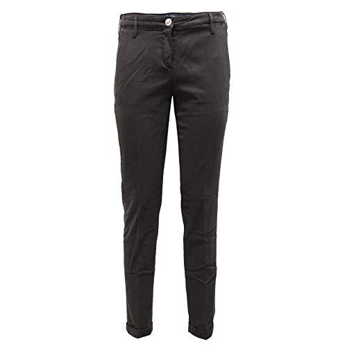 Jacob Cohen 0142AA (no Foulard) Pantalone Donna Dark Grey Trouser Woman [26]