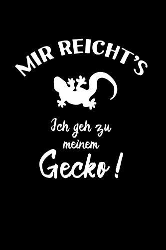 Geckos: Ich geh zu meinem Gecko: Notizbuch / Notizheft für Gecko-Besitzer Gecko-Halter A5 (6x9in) liniert mit Linien