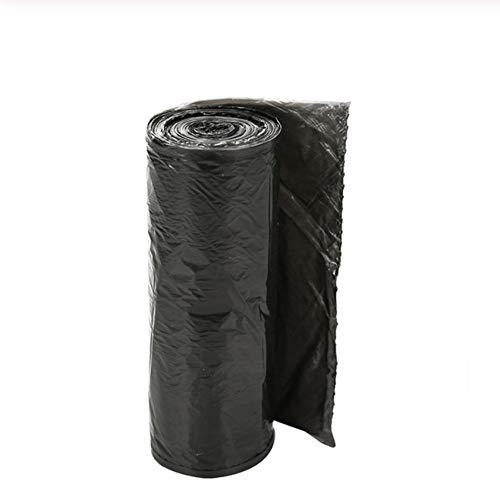 Auslaufsichere Tasche Küche schlecht Unscented Müll Beutel (8 Bände, insgesamt 160,50x45 cm) @black