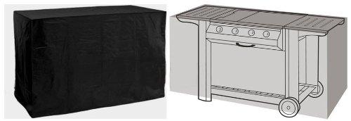 HBCOLLECTION Housse Noire pour Barbecue BBQ Gourmet 155cm Large Gamme Confort