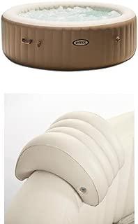 Intex 85in PureSpa Portable Bubble Massage Spa Set and PureSpa Headrest