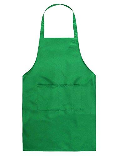 Demarkt Kinder Schürzen Kochschürze Kinder Backschürze Bastelschürze Gartenschürze Malschürze Grün