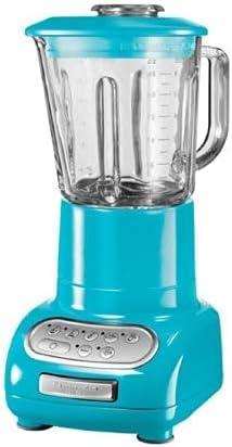 lowest KitchenAid 5-Speed Blender with online Glass Jar Crystal popular Blue (Renewed) online