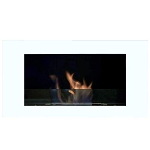 Best Buy! Gel and Ethanol Fire place Fireplace Model Roma Deluxe Royal - Choose the color (White)