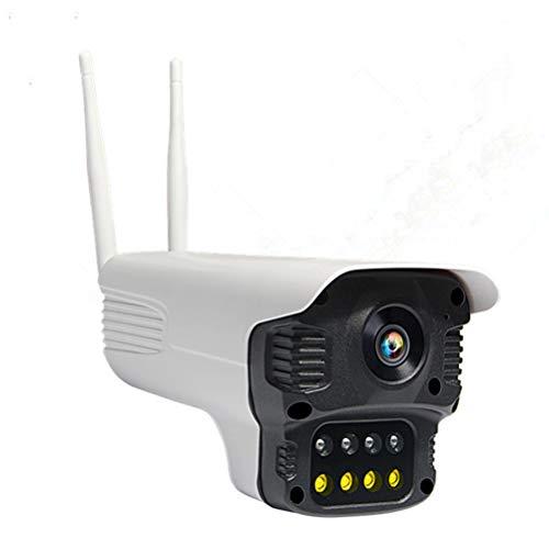GAOJIAN Visión Nocturna Inteligente a Todo Color Camara Vigilancia Cámara de detección de Movimiento Compensación automática de luz de Fondo