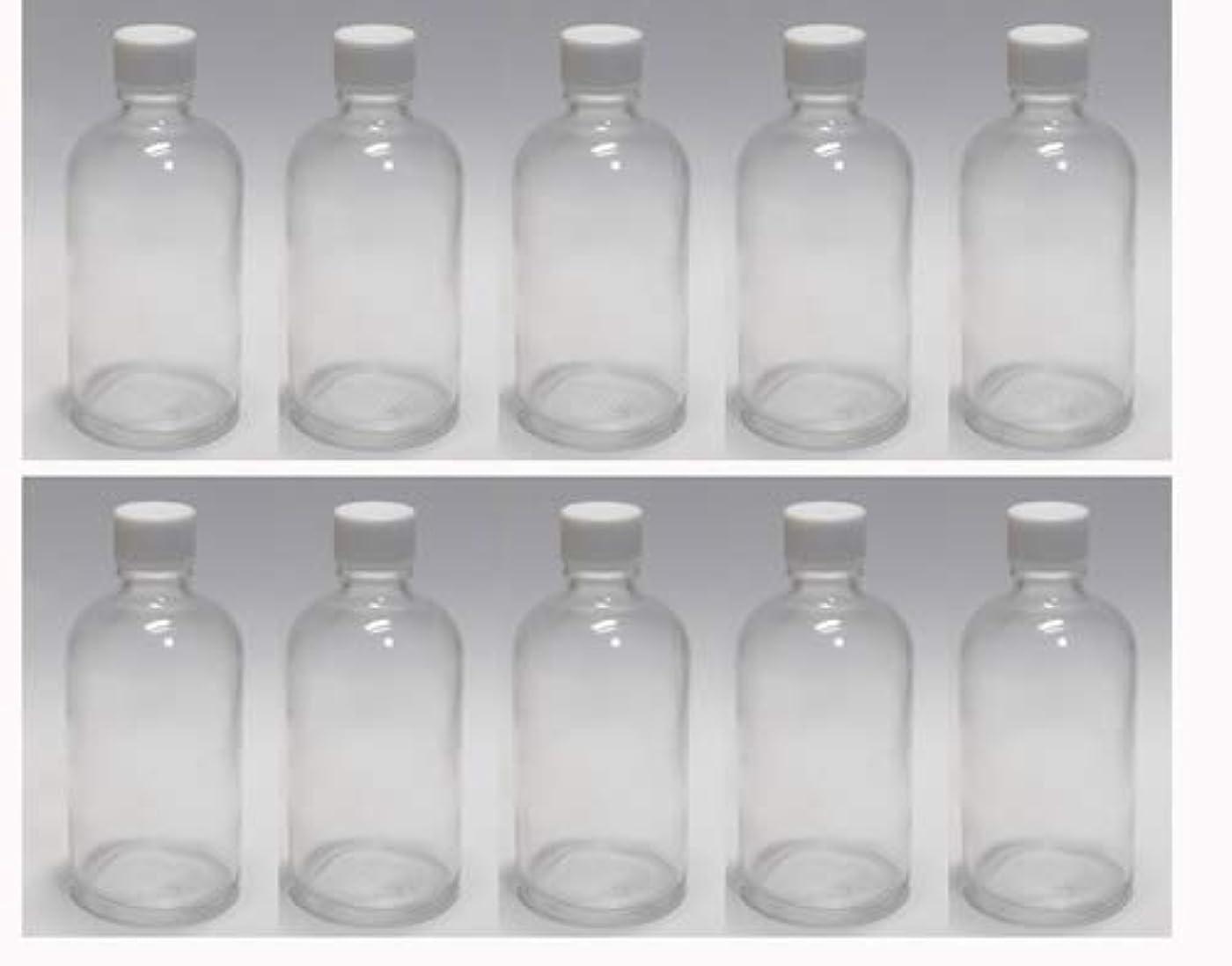 登山家うるさいレルム100ml ガラスボトル(空容器) 10本