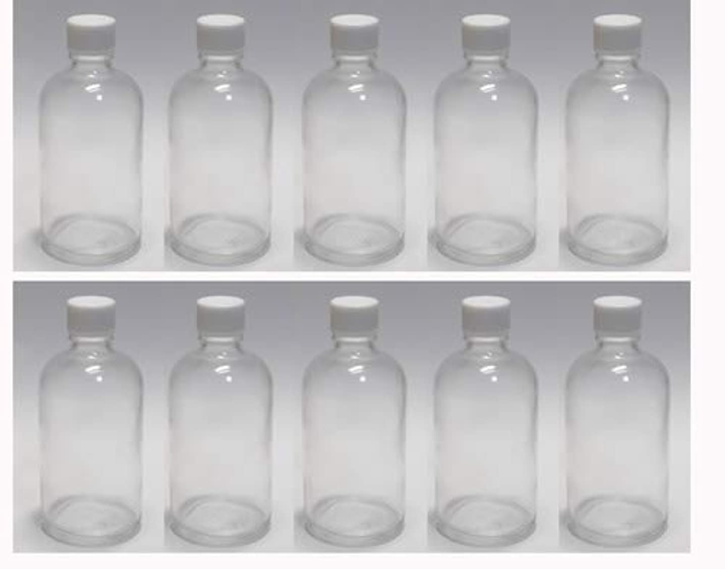 シャンプーアリゴム100ml ガラスボトル(空容器) 10本