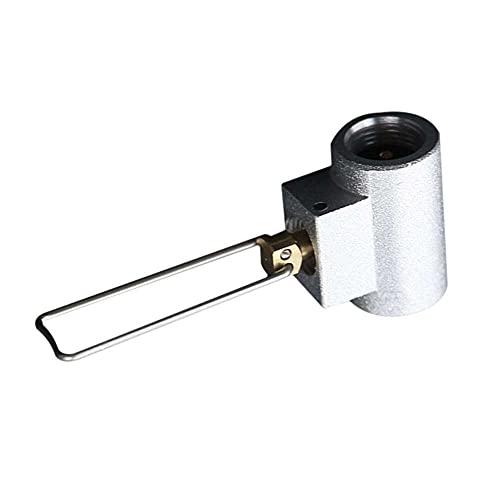 NEL Conector inflable de la estufa de camping, tanque plano de la articulación inflable para llenar la cabeza de conversión de la válvula de inflación que acampa del convertidor