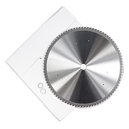 Sankuai Hoja de Corte de Metal 1 UNID 36/48/60/66/80 / 90T Hoja de Sierra Circular de carburo 180-355mm Nano Disco de Corte de Metal Recubierto Azul