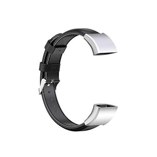 Resistente al desgaste, correa de cuero genuino, correa de reloj de repuesto para Hua-wei Band 4 Pro accesorios correa de reloj de cuero