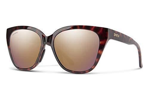Gafas de Sol Smith ERA Havana/Chormapop Polarized Rose Gold 55/16/145 mujer