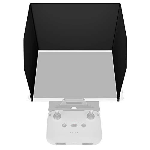 AIWOKE RC Drohnen Sonnenschutz Telefon Tablet, Klappmonitor Sonnenhaube für DJI Mavic 2 Zoom/Mavic Air 2/Mavic Air Pro/Mini/Funke/Phantom/Osmo Fernbedienungs Schutz zubehör (L220 (10,2-10,5 Zoll))
