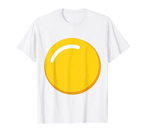 Disfraz de huevo de yema de huevo diablo Camiseta
