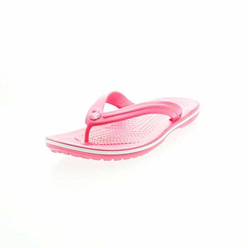 Crocs Crocband Flip, Chanclas Unisex-Adult, Pink, 39/40 EU