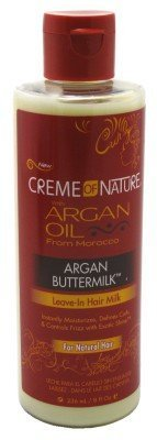 Creme of Nature Argan Buttermilk Leave-in Hair Milk, 8 Ounce by Creme of Nature