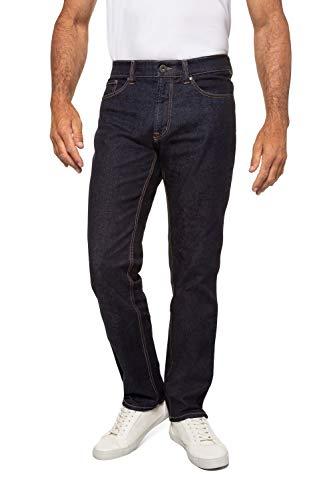 Jeans, Denim-Hose im 5-Pocket-Style, Stretch-Komfort, elastischer Bund & Regular Fit darkblue 29 708068 93-29
