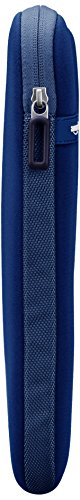 Amazon Basics Laptop-Schutzhülle, für eine Bildschirmdiagonale von 15 - 15,6Zoll, Marineblau