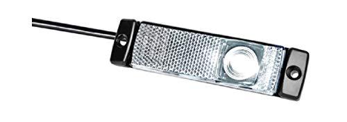 HELLA 2PG 008 645-971 Positionsleuchte - LED - 24V - Lichtscheibenfarbe: glasklar - Anbau - Kabel: 500mm - Einbauort: vorne