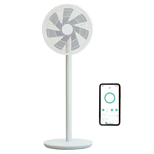 Smartmi スマート扇風機 2S バッテリー搭載 コードレス 最大20時間連続使用 DC扇風機 7枚羽 静音 100段階風量調節 アプリ操作 タイマー/スケジュール設定 ※リモコンは付属しません(スマホ操作)
