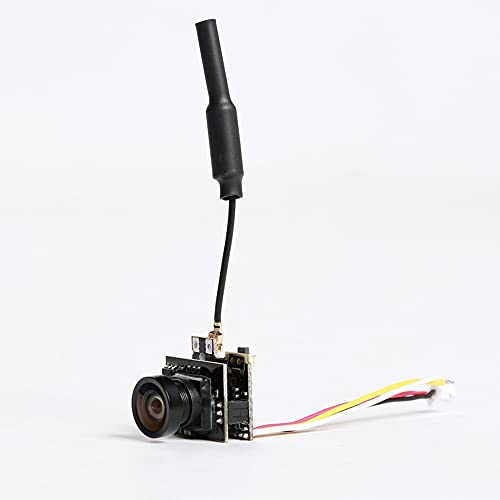 XIABAIGUO LST-S2 40CH 2 5mw 5.8G trasmettitore Antenna con FPV. Telecamera all in One Camera Pal/NTSC per FPV. Kit Racing Drone Ricambio Antenna per Drone RC