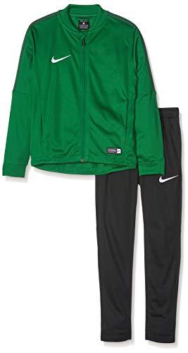 Nike Academy16 Yth Knt Tracksuit 2, Tuta sportiva Unisex, Multicolore (Verde/Nero/Bianco), L (12 - 14 anni)