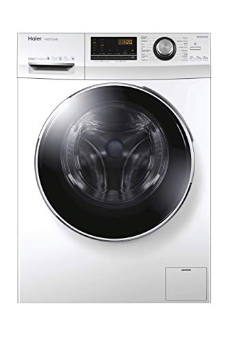 Lavadora carga frontal - Haier HW100-B14636, 10kg, 1400rpm, Motor Direct Motion, 67dB, ABT, A+++(-50%), Blanco