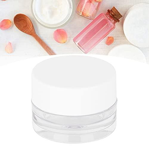 Frasco de crema, buen sellado Recipiente para cosméticos resistente a la corrosión Compacto y liviano para cremas faciales cosméticos, Mudpack
